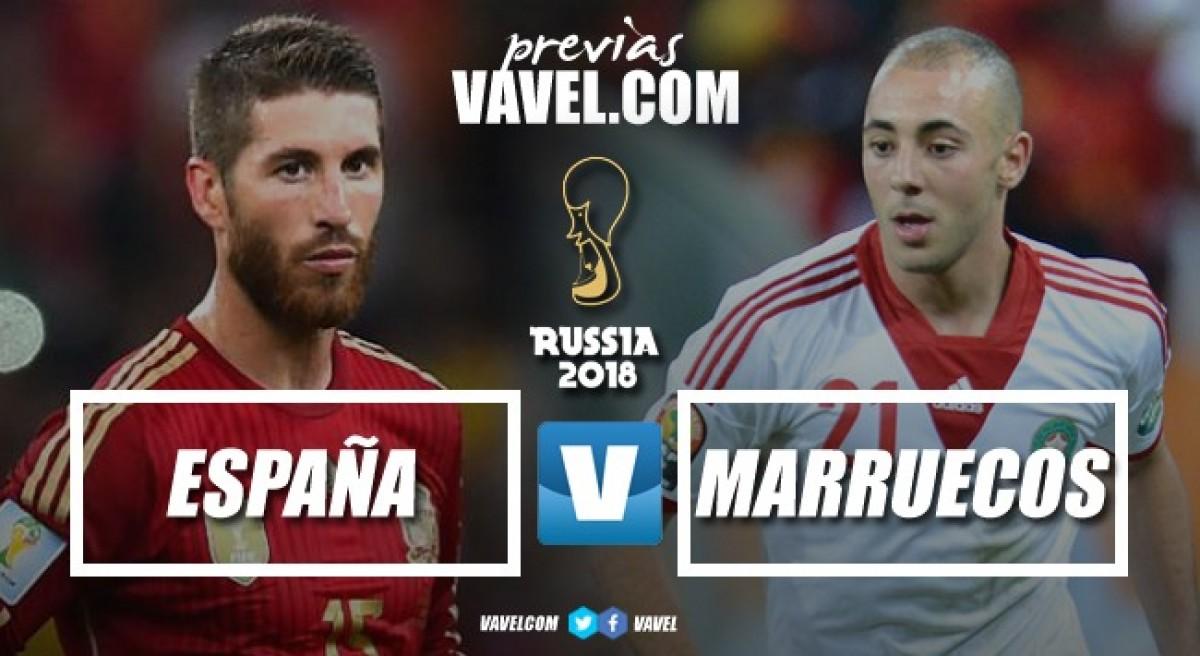 Diante do eliminado Marrocos, Espanha disputa primeira posição no Grupo B