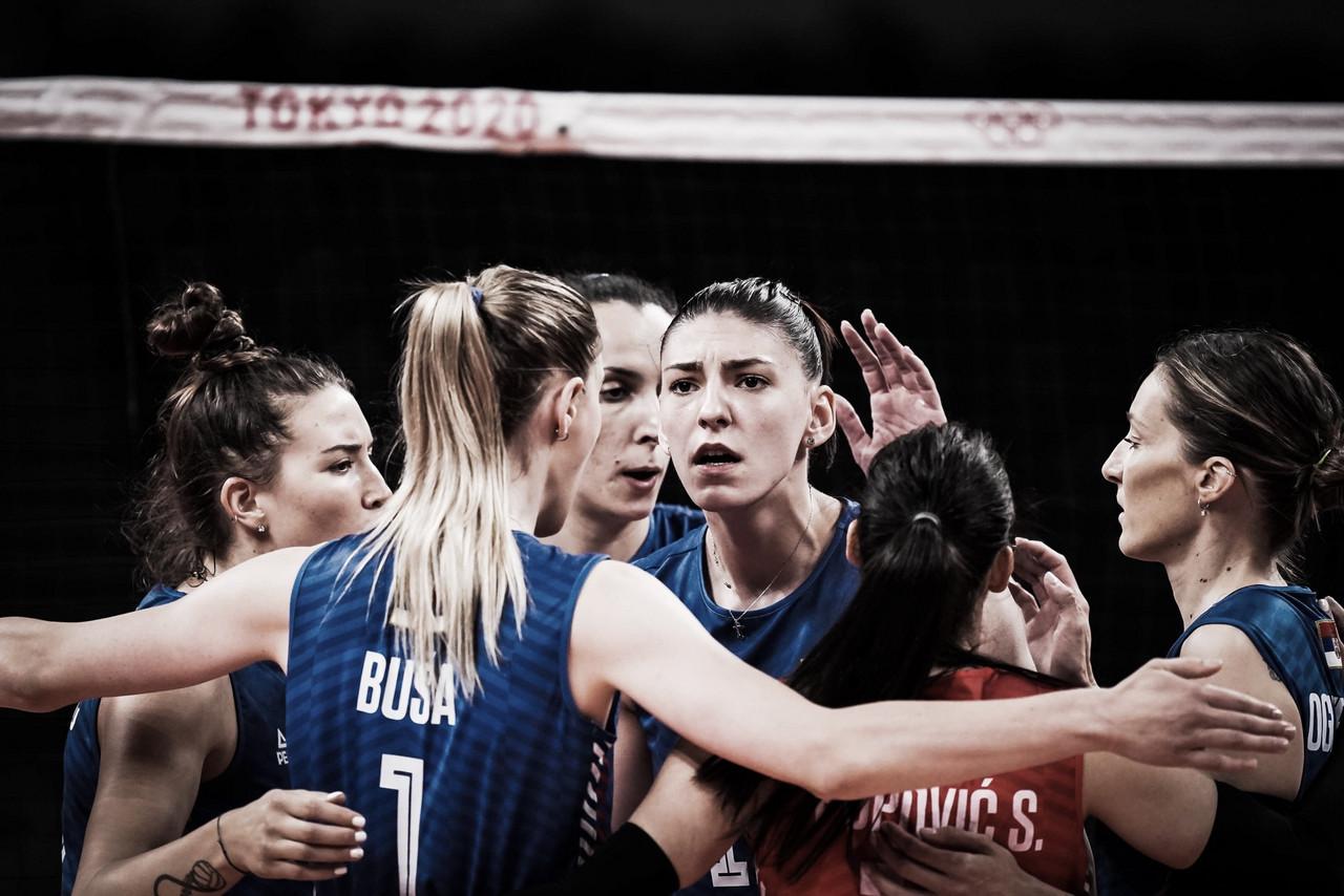 Sérvia supera Coreia do Sul e conquista bronze no vôlei feminino em Tóquio