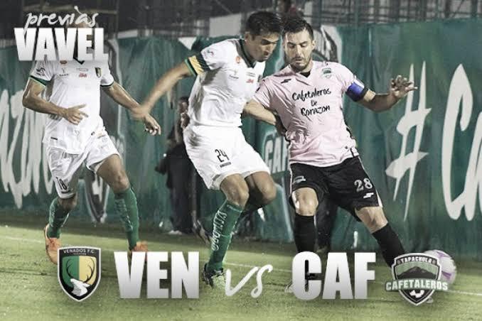 Previa: Venados Fc vs Cafetaleros