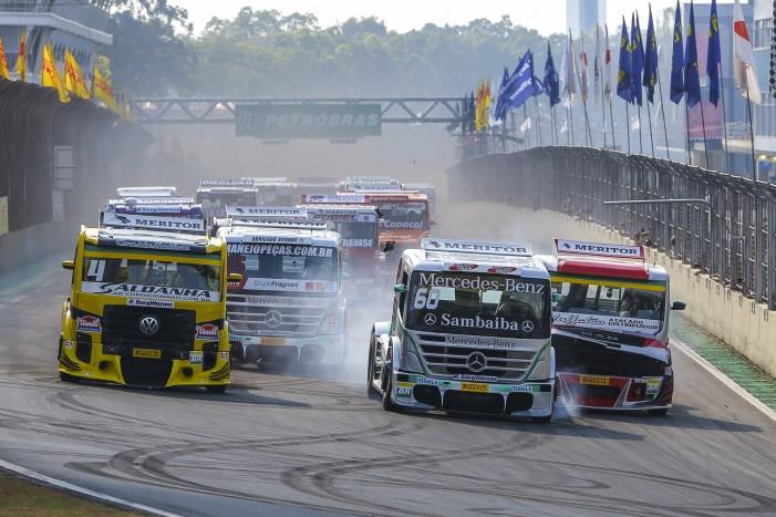 Punição de Giaffone e vitória de Salustiano na volta da F-Truck para Interlagos