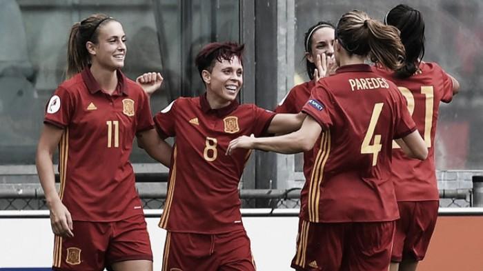 Resumen España 4-0 Austria en CLASIFICACIÓN MUNDIAL 2019