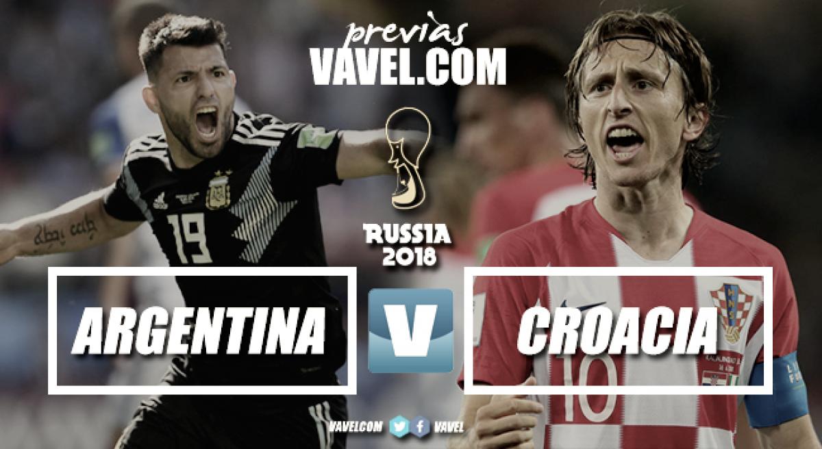 Previa Argentina - Croacia: puede complicarse la clasificación