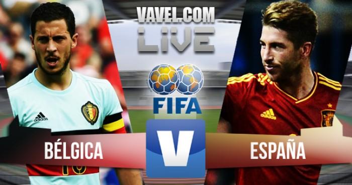 Risultato Partita Belgio - Spagna amichevole internazionale 2016 (0-2)