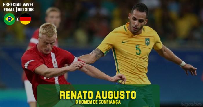 Renato Augusto: o homem de confiança de Rogério Micale