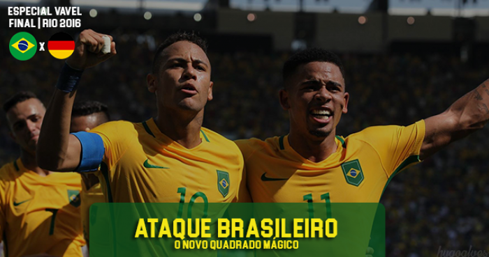 Neymar, Gabriel Jesus, Luan e Gabigol: o novo quarteto mágico do Brasil