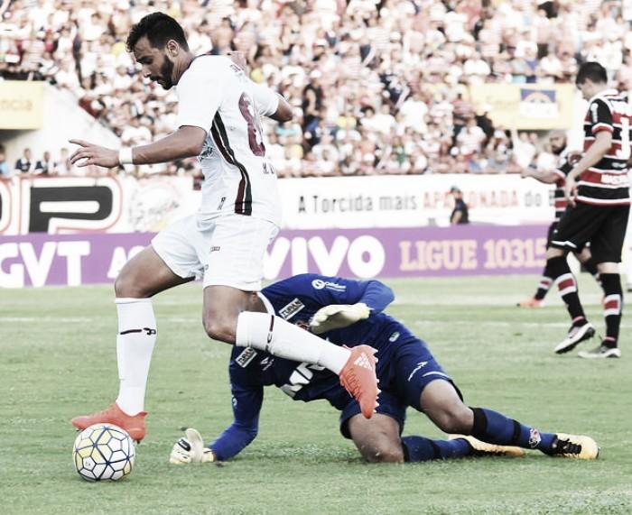 Com gol de Henrique Dourado, Fluminense vence Santa Cruz e conquista segunda vitória seguida