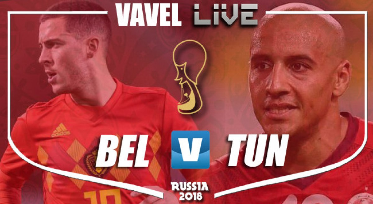 Coupe du Monde: Belgique 5 - 2 Tunisie