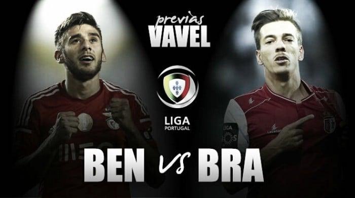 Previa SL Benfica – Sporting de Braga:duelo por asaltar el liderato en da Luz