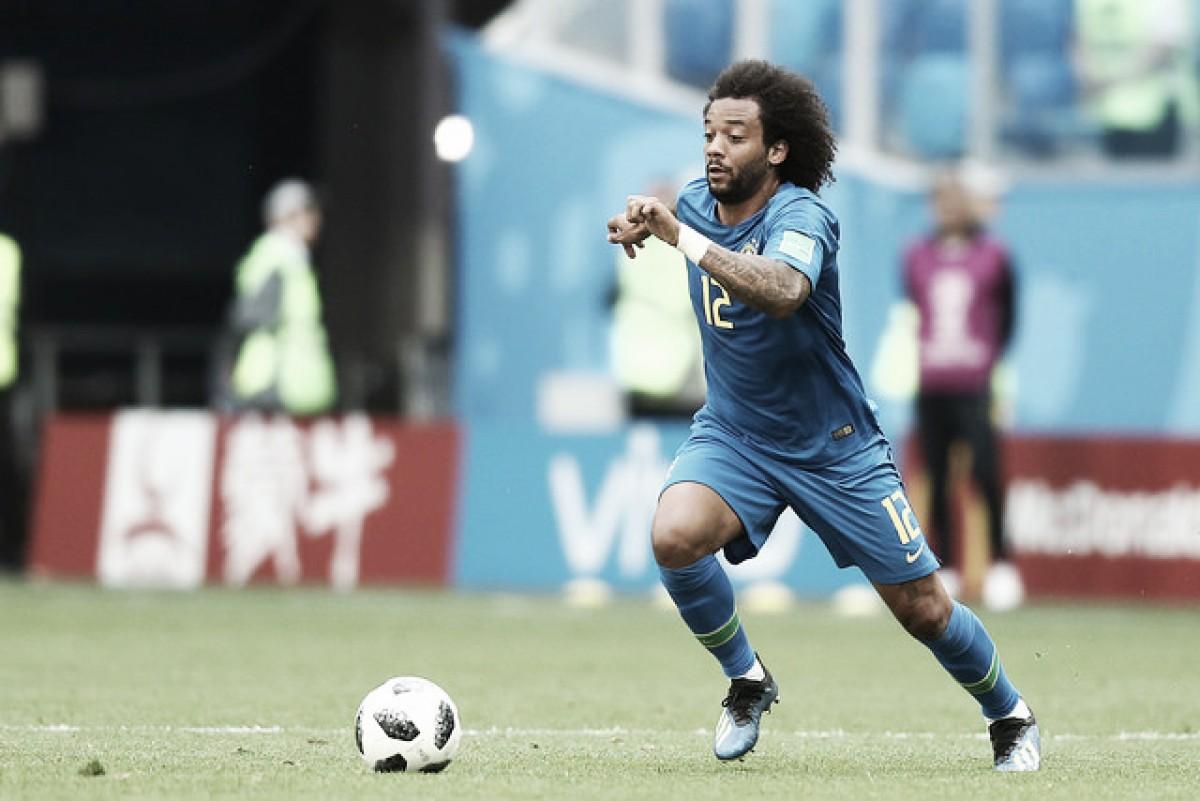 Marcelo sufre una lesión leve en la espalda
