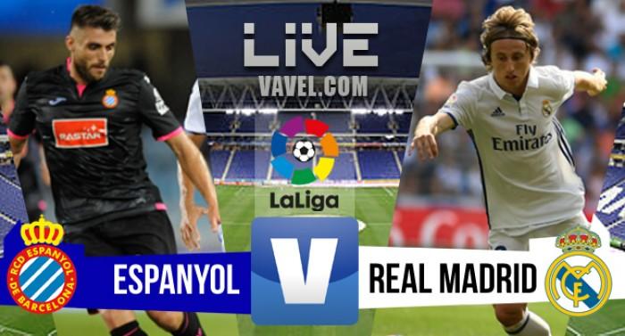 Espanyol perde para o Real Madrid no Campeonato Espanhol 2016/17 (0-2)