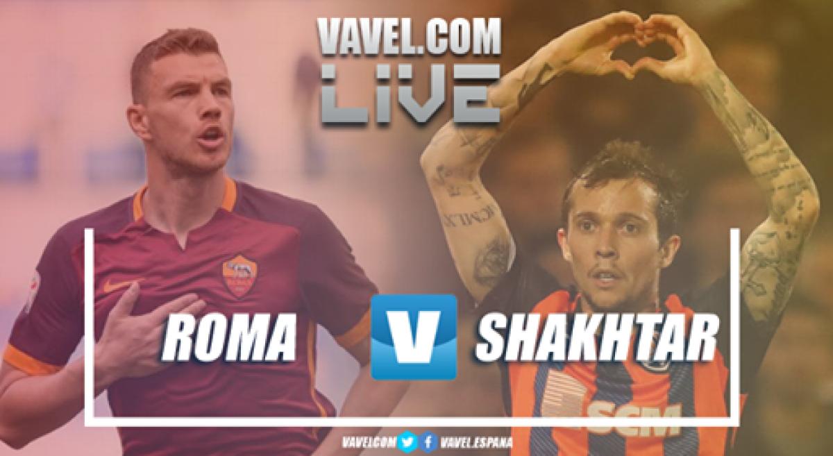 Resumen Roma 1-0 Shakhtar Donetsk en UEFA Champions League 2018