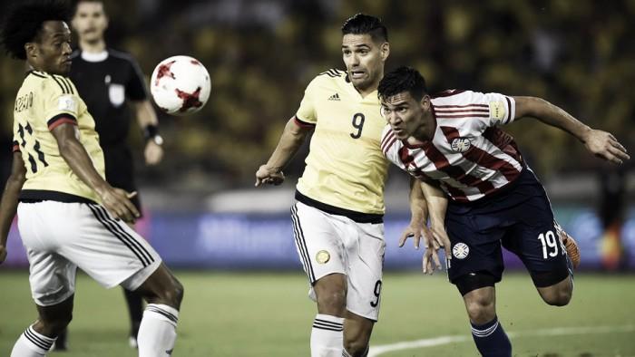 Paraguay le arruinó la fiesta a Colombia y pone la eliminatoria al rojo vivo