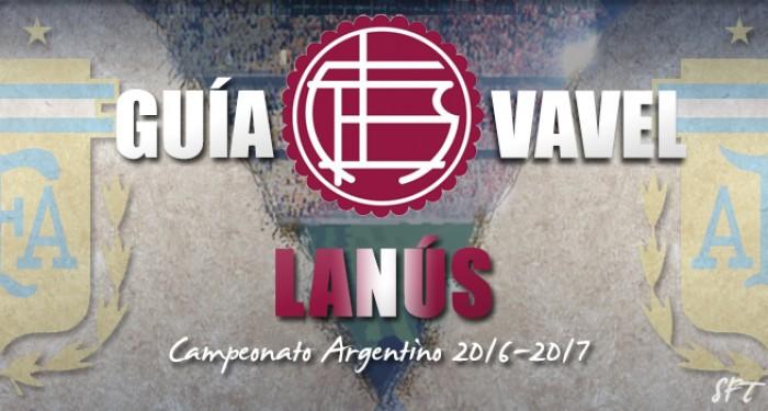Guía Lanús VAVEL 2016/2017