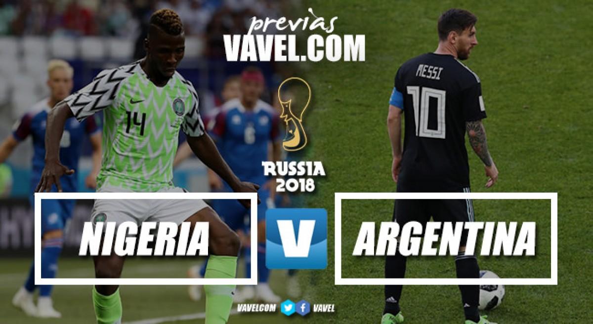 Previa Nigeria - Argentina: dramatismo total en San Petersburgo