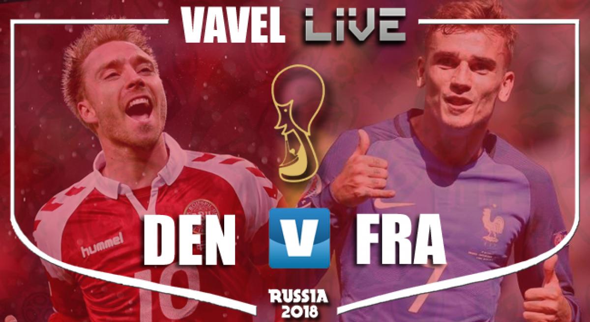 Resumen Francia vs Dinamarca en Mundial Rusia 2018 (0-0)
