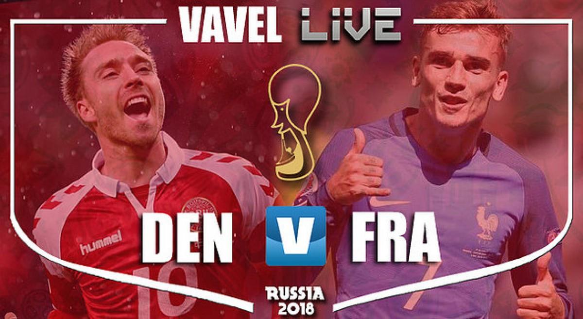 Resultado Dinamarca x França na Copa do Mundo 2018 (0-0)