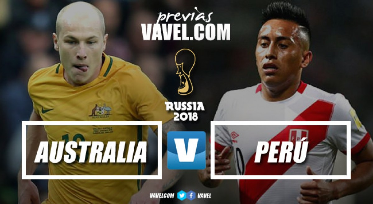 Previa Australia vs Perú: socceroos por la heroica