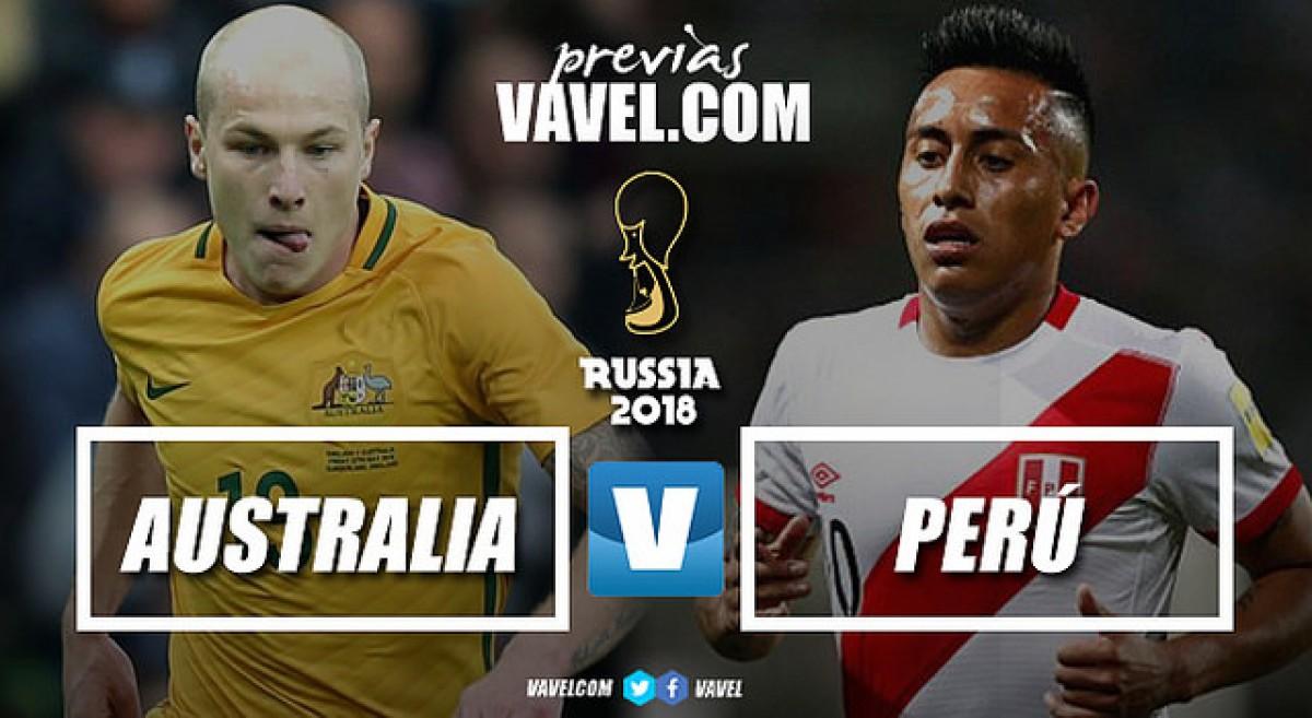 Diante do eliminado Peru, Austrália busca retorno às oitavas após 12 anos