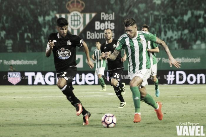 Las entradas para el Real Betis vs Deportivo de Copa del Rey, a la venta a partir del viernes