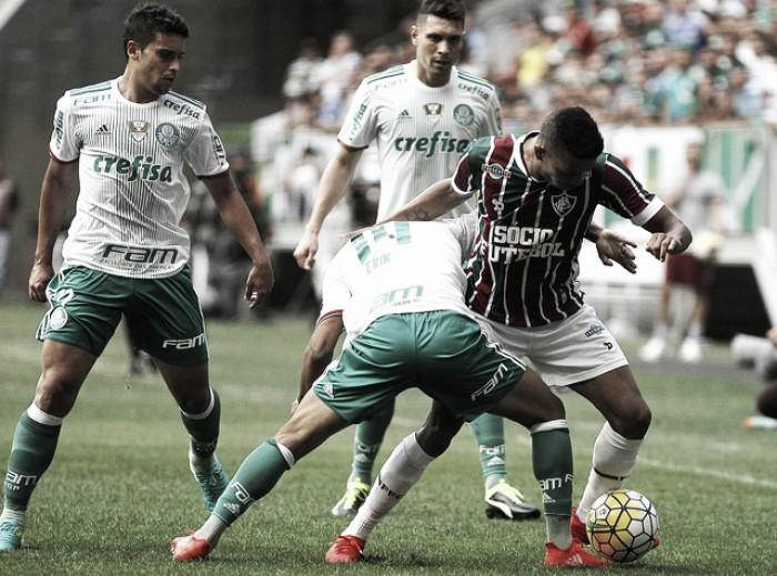 Em jogo pegado, Palmeiras vence Fluminense e segue na liderança do Brasileirão