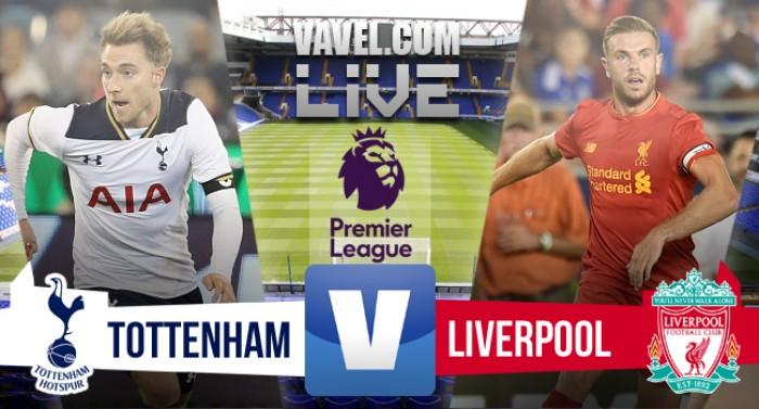 Resultado Tottenham x Liverpool pela Premier League (1-1)