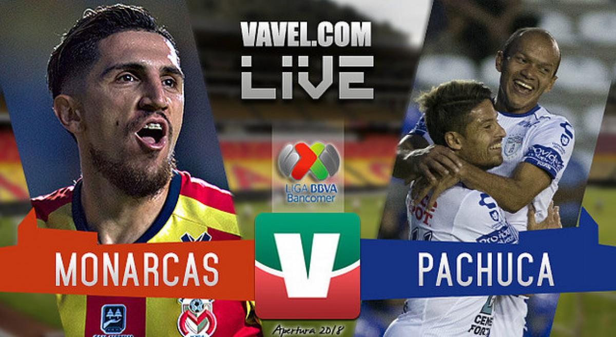 Resumen Morelia 1-1 Pachuca en Liga MX 2018