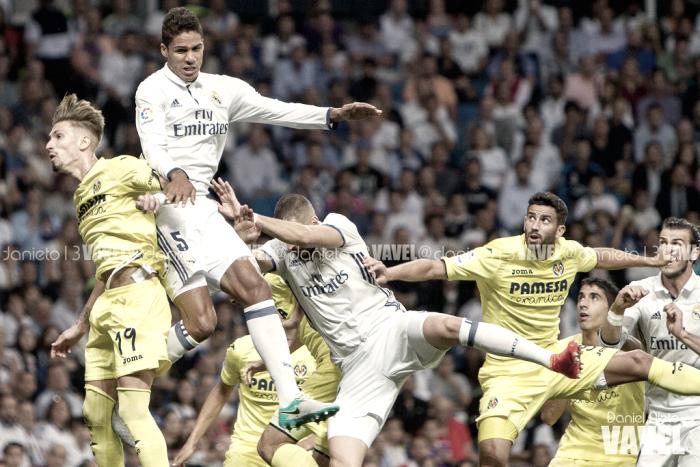 Tablas en la última visita del Villarreal al Bernabéu