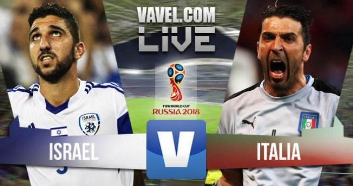 Partita Israele - Italia in qualificazioni Mondiali 2018. Vittoria sofferta per l'Italia (1-3)