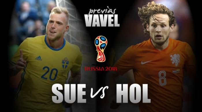 Qualificazioni Mondiali, l'Olanda cerca il riscatto contro la Svezia, è il primo match del gruppo A