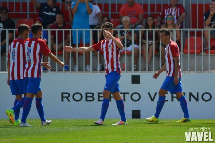 El Atlético B encuentra el camino