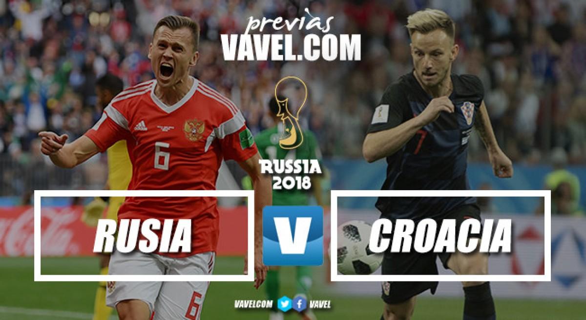 Previa Rusia - Croacia: a continuar siendo el caballo negro