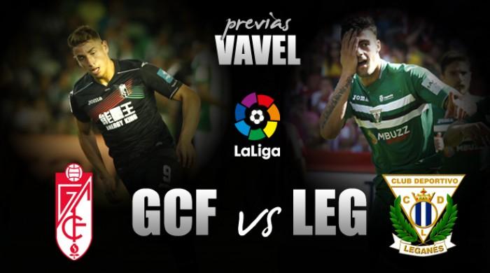 Granada CF - CD Leganés: volver a empezar