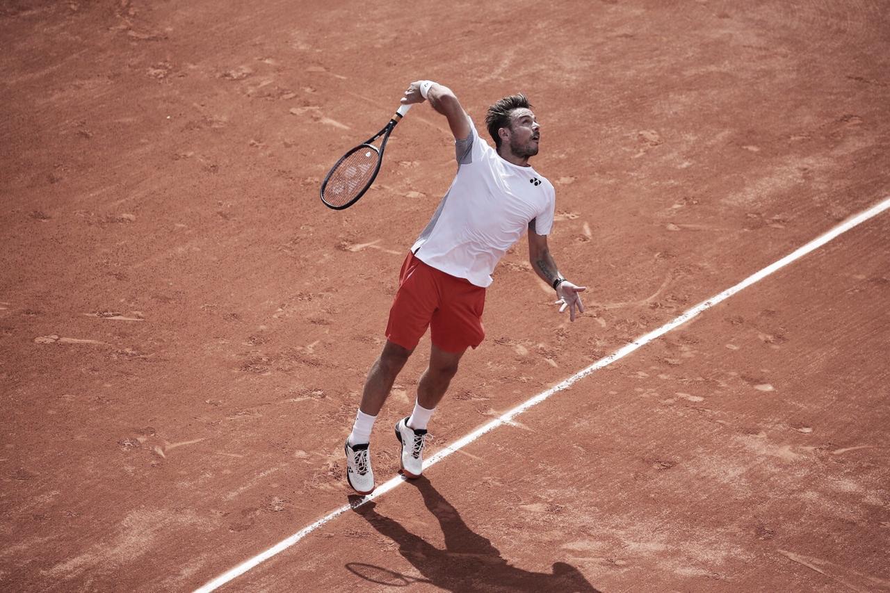 Wawrinka joga bem, supera Kovalik e está na segunda rodada de Roland Garros