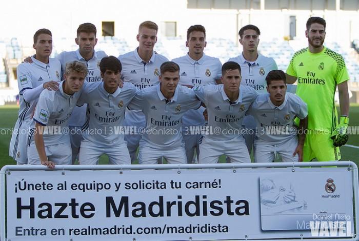 El Real Madrid Castilla muestra buenas vibraciones en su segundo partido de pretemporada