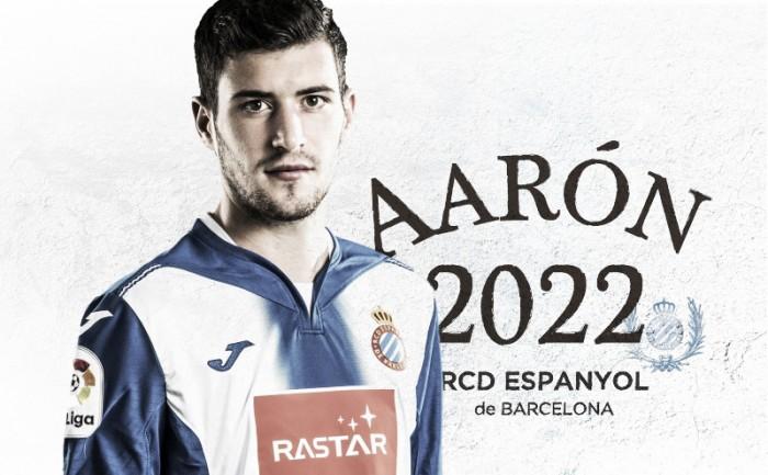 Aarón Martín, blindado hasta 2022