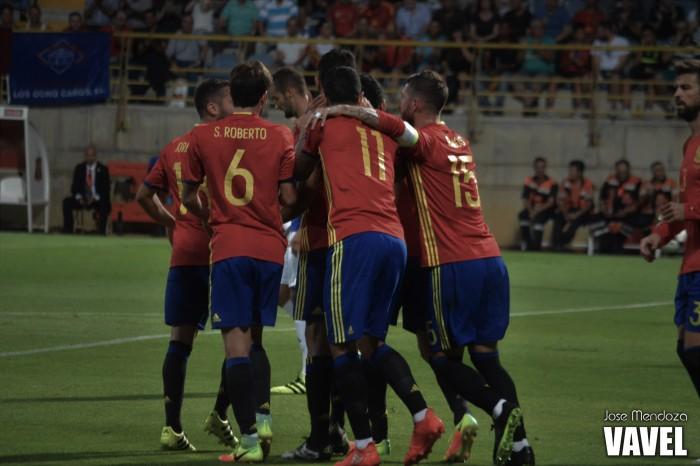 Resultado Espanha x Albânia nas Eliminatórias Europeias para Copa do Mundo 2018 (3-0)