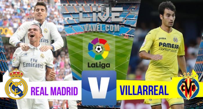 Real Madrid empata com o Villarreal pelo Campeonato Espanhol 2016/17 (1-1)