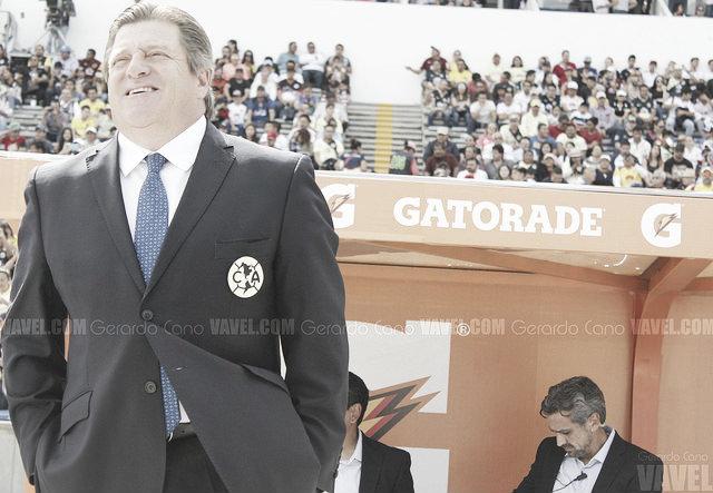 """Miguel Herrera: """"El equipo está fuerte, sólido y equilibrado"""""""