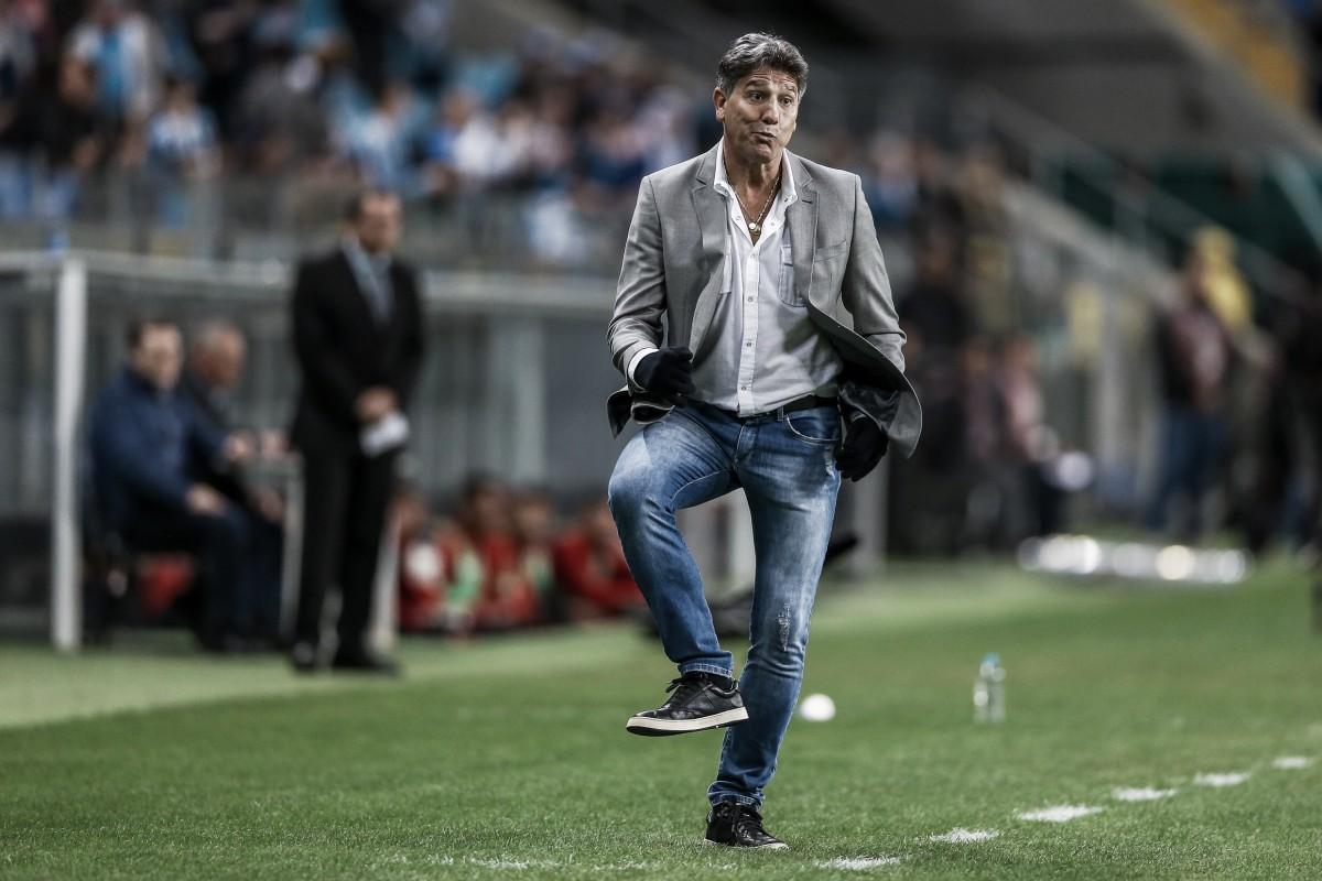 """Renato Portaluppi elogia jogadores do Grêmio após vitória contra Flamengo: """"Nota 10"""""""