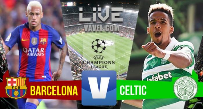 Resultado Barcelona x Celtic pela Liga dos Campeões 2016/2017 (7-0)