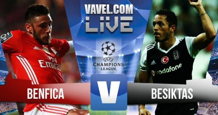 Champions League - Benfica vs Besiktas, tre punti pesanti in palio
