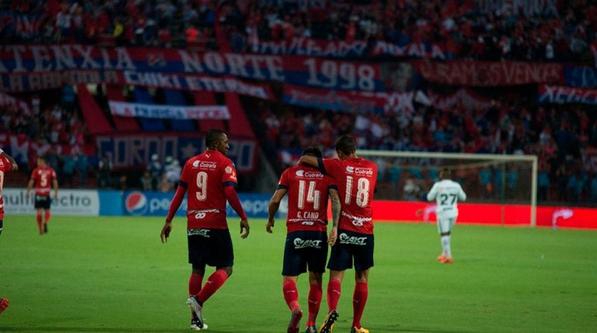 Nacional - DIM: puntuaciones Medellín, jornada 13 de la Liga Águila