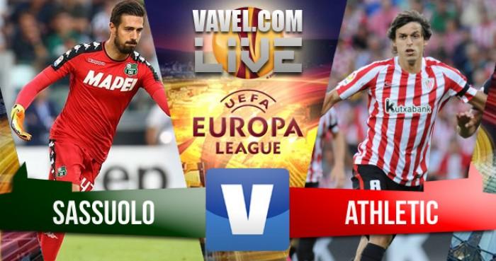 Risultato partita Sassuolo - Athletic Bilbao, Europa League 2016/2017 (3-0)