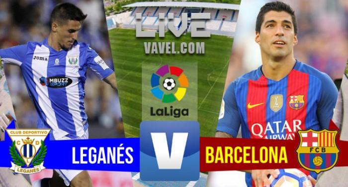 Leganés é goleado pelo Barcelona no Campeonato Espanhol 2016/17 (1-5)