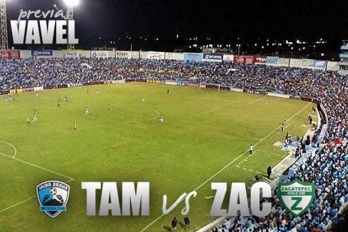 Previa Tampico Madero - Zacatepec: 'Jaiba Brava' en la búsqueda de enderezar el camino