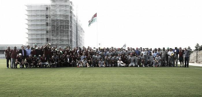 Fluminense realiza primeiro treino no novo Centro de Treinamento