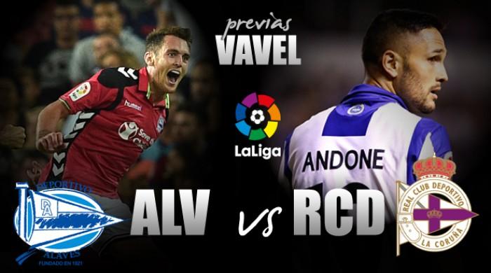Previa Deportivo Alavés - Deportivo de La Coruña: Lucha por un nombre