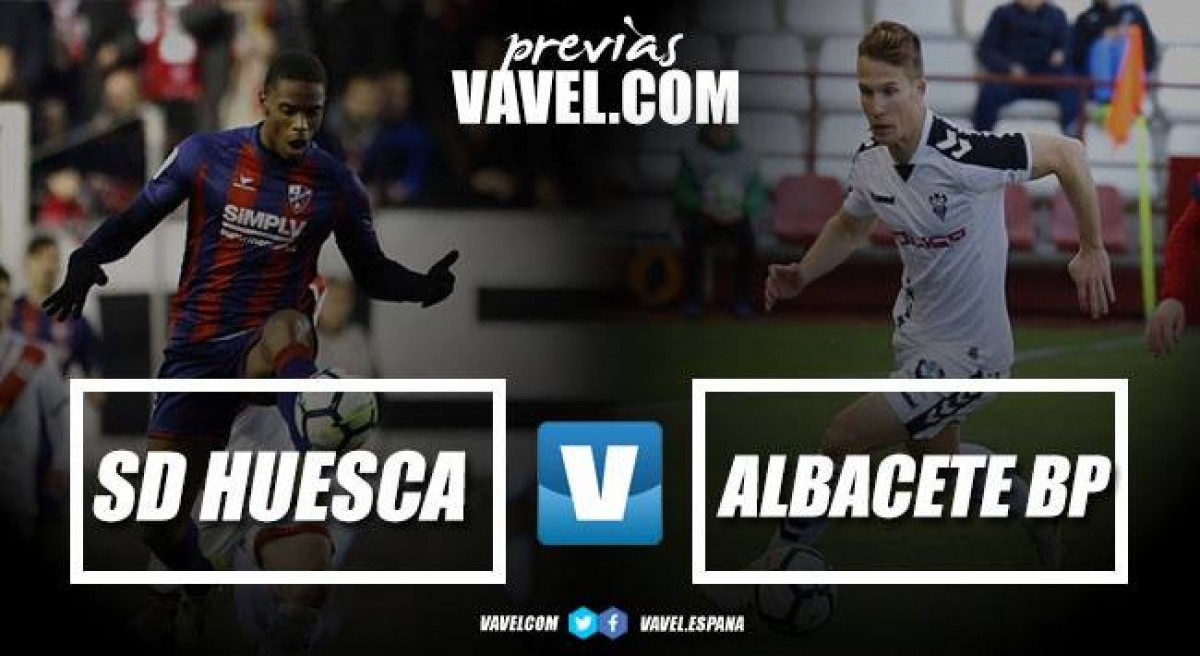Previa SD Huesca - Albacete CF: solo vale la victoria