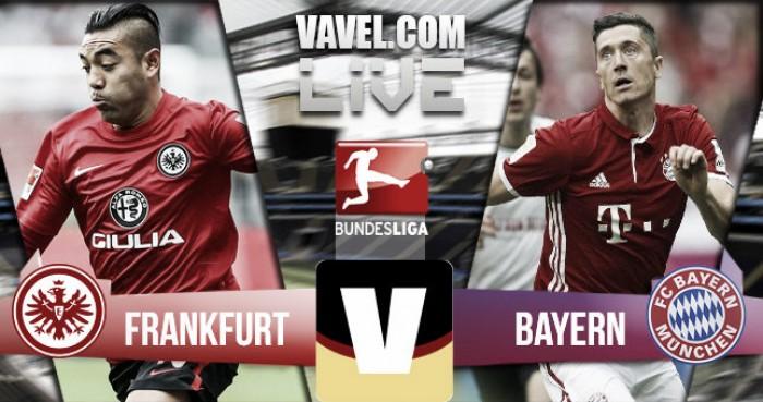 La garra del Eintracht consiguió un empate ante el líder