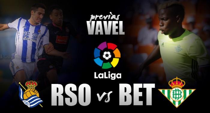 Previa Real Sociedad -Real Betis: los verdiblancos tienen la oportunidad de cambiar lo establecido